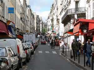 One of Robyn's favorite streets in the ninth Arrondissement