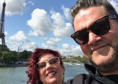 My clients, The Pikes, took an exclusive boat journey on The Seine.  Ask us how you can too!