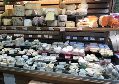 Not only will my food guides tell you about French cheeses but you will learn how to eat them in a particular order to enhance your enjoyment.