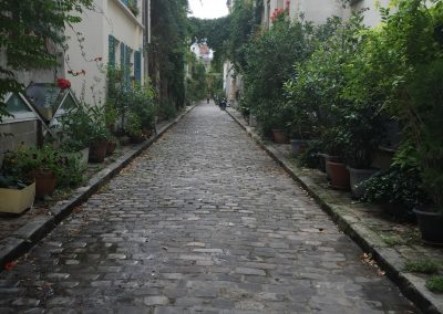 Get off the wide boulevards and experience the old cobblestoned paths.