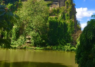Get off the beaten track and enjoy Paris from the hilly Buttes Chaumont in the 19th Arrondissement.