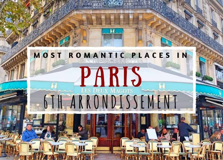 10 Most Romantic Places in Paris: 6ème Arrondissement